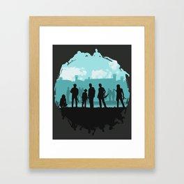 The Walking Dead: Prey Framed Art Print
