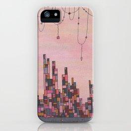 Traveling Skyline iPhone Case