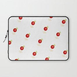 Warm Wishes Christmas Ornament Laptop Sleeve