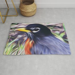 Red Breast Rug