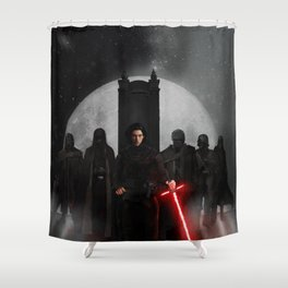 Supreme Leader And His Knights Shower Curtain