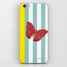 Coral butterfly iPhone & iPod Skin