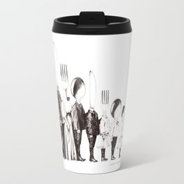 Family Portrait Line-up Travel Mug