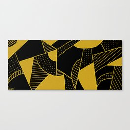 two color theorem Gold Canvas Print