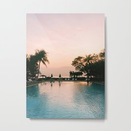 Mornings on the Gulf of Thailand Metal Print
