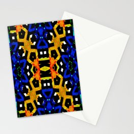 Abstract Piano Mash Stationery Cards
