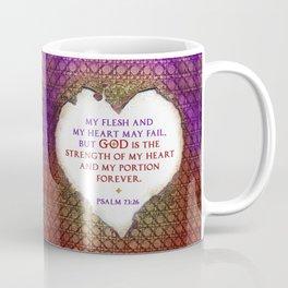 The Strength of My Heart Coffee Mug