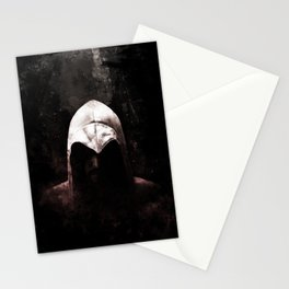 Roman Assassin Hood - Color Stationery Cards