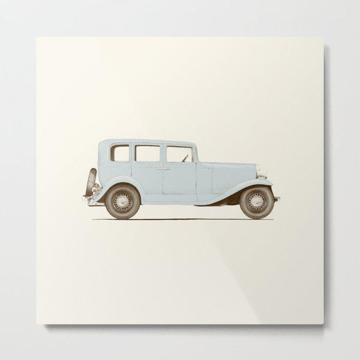 Car of the 1930's Metal Print