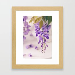 Wisteria Framed Art Print