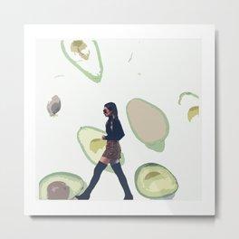 We Wore Avocados Metal Print
