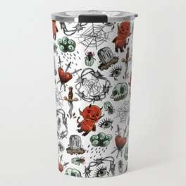 tattoo flash sheet Travel Mug