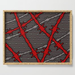 Barbed Serving Tray