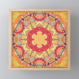 Mandalas of Forgiveness & Release 5 Framed Mini Art Print