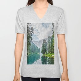 The Place To Be Unisex V-Neck