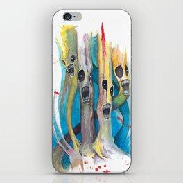 Barbershop Quartet of Evil Trees iPhone Skin