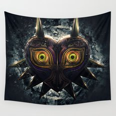 Epic Pure Evil of Majora's Mask Wall Tapestry