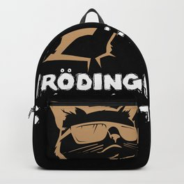 Wanted Dead & Alive Schrodinger's Cat Gift Backpack