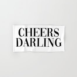 cheers darling Hand & Bath Towel