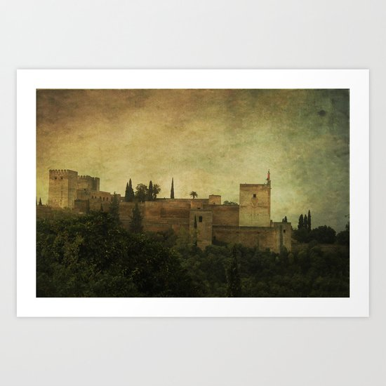 Alhambra 2 Art Print