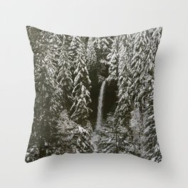 silver falls north Throw Pillow
