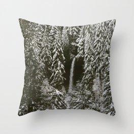 silver falls north Throw Pillow