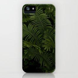 Field of Ferns iPhone Case
