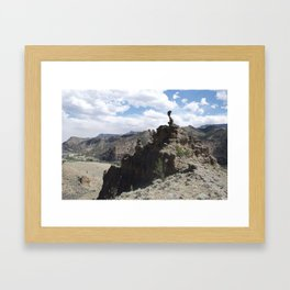 the holy city Framed Art Print