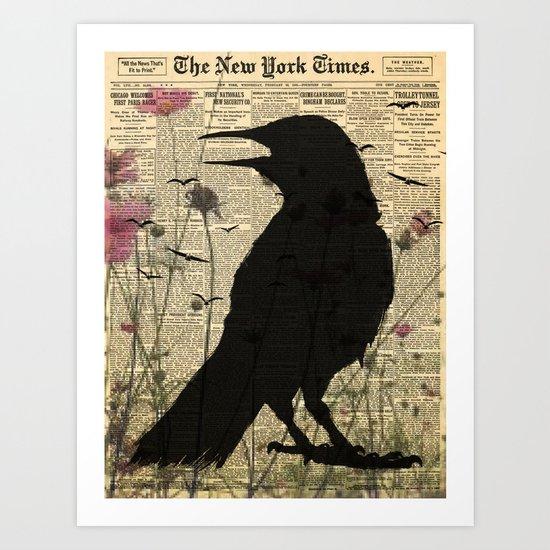 New York Ravin Art Print