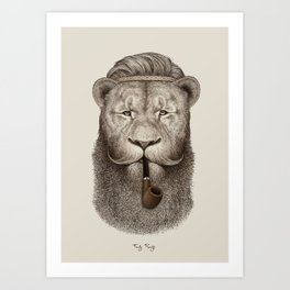 I like your beard Art Print