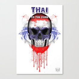 To The Core Collection: Thailand Canvas Print