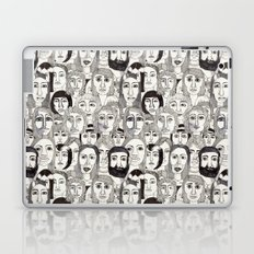 Faces in the Tube Laptop & iPad Skin