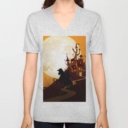 Zelda Link - Nightmare Unisex V-Neck