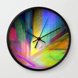 Abstract 9590 Wall Clock