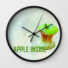 Eclipse Of The Green Star Wall Clock