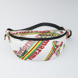 Perform-A-rama Logo Collage Fanny Pack