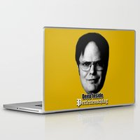 dwight Laptop & iPad Skins featuring Dwight - Perfectenschlag by Thomas Rolfe
