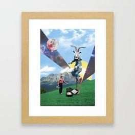 Showgoating Framed Art Print