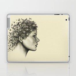 Spring woman Laptop & iPad Skin