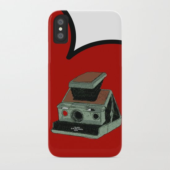 POLAROID SX70 iPhone Case