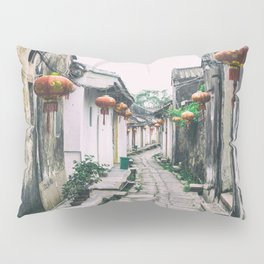 chinese ancient village Pillow Sham