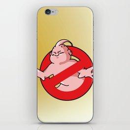 ¿a quien vas a llamar? iPhone Skin