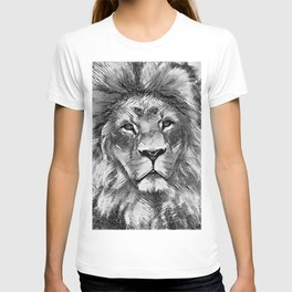 AnimalArtBW_Lion_20171004_by_JAMColorsSpecial T-shirt