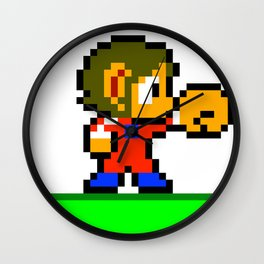 Alex Kidd Wall Clock