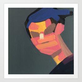 Distanc Portrait IX Art Print