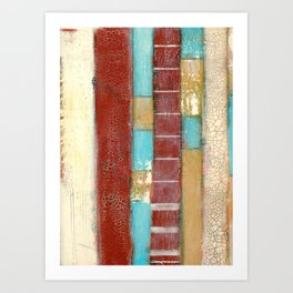 """On the Boardwalk"" Art Print"
