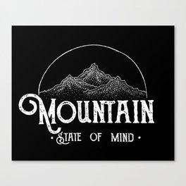 MSOM Version 2 Black Canvas Print