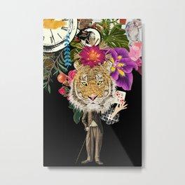 Mr. Tiger I Metal Print