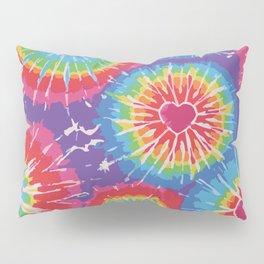 Love Tye Dye Pillow Sham