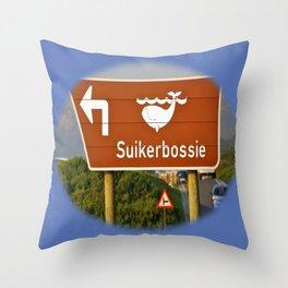 Suikerbossie Throw Pillow